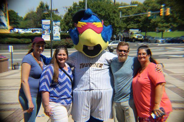 Staff Outing at Trenton Thunder game!