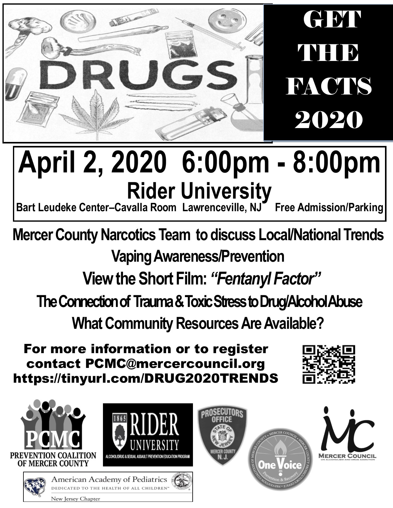 2020 Rider Drug Trends Get The Facts Flyer