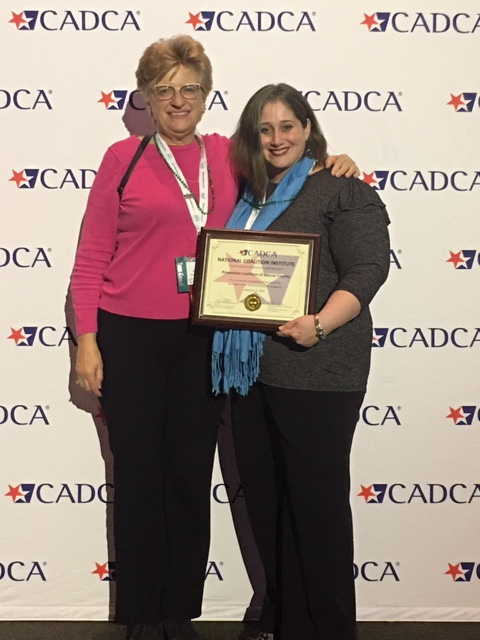 PCMC (Prevention Coalition of Mercer County) staff members attend CADCA's 30th National Leadership Forum and Coalition Academy Graduation Ceremony