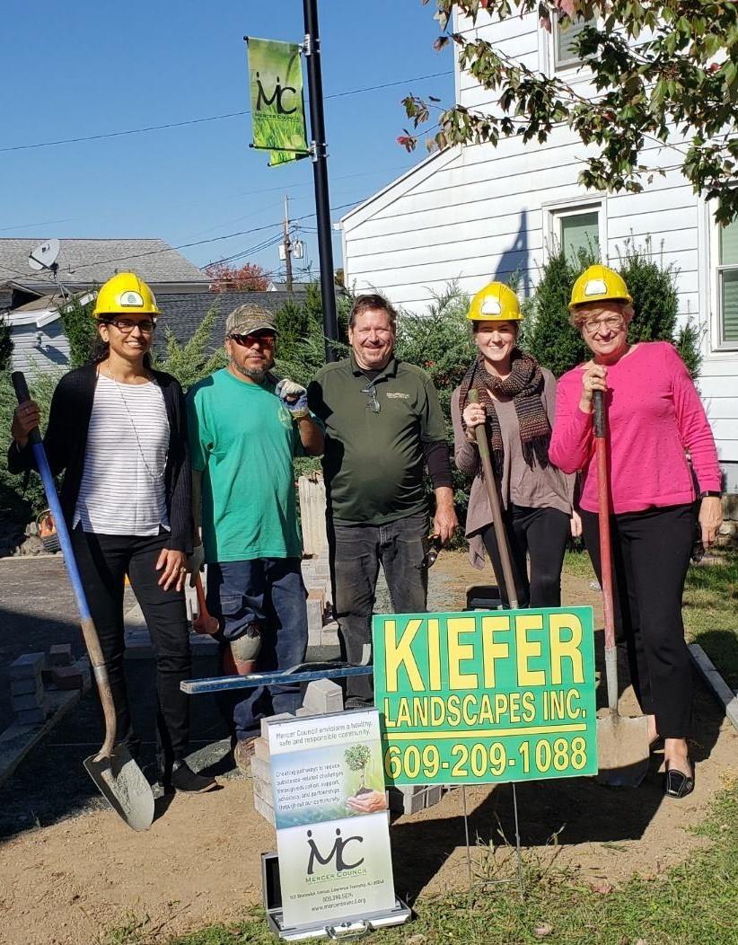 Mercer Council and Kiefer Landscaping Break Ground -- Stay Tuned for an Exciting Announcement