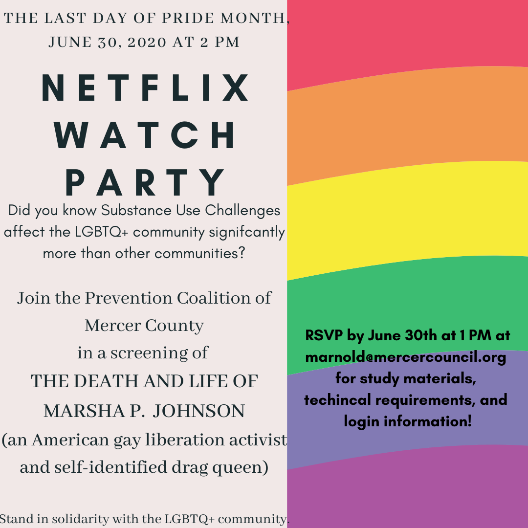 watch party Marsha Johnson